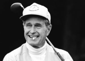 George W. Bush Golfing at Arizona Biltmore Golf Resort