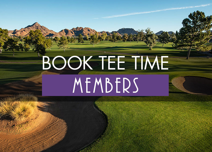 Book Tee Times - Members