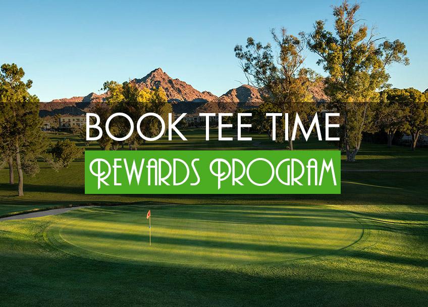Book Tee Times -Rewards Program